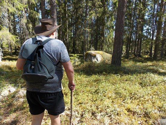 Fagersta, Szwecja: boswandeling