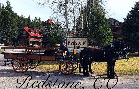 Avalanche Outfitters also offers Horsedrawn Carriage rides through Redstone,