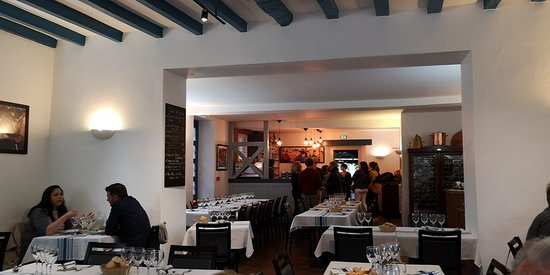 Restaurant du Chene: la salle