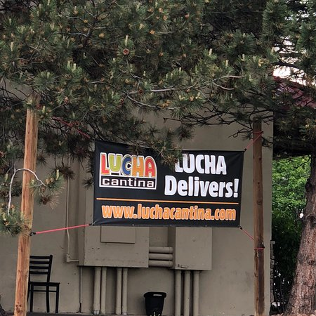 Lucha Cantina: Views from the reservoir trail