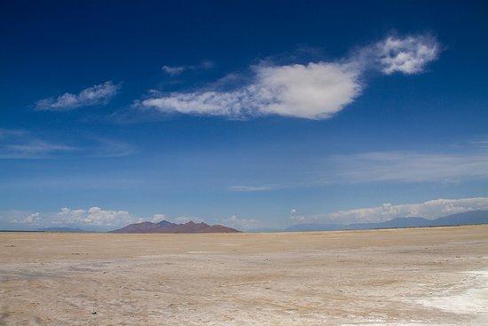 Great Salt Lake: beach