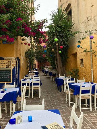 The Well of the Turk: Outdoor seating
