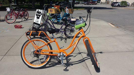 My orange bike - Picture of Chelan Electric Bikes - TripAdvisor