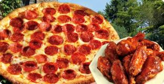Hull, MA: Pizza and wings