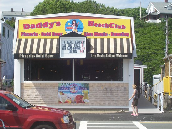 Hull, MA: Daddy's entrance from the Beach Side