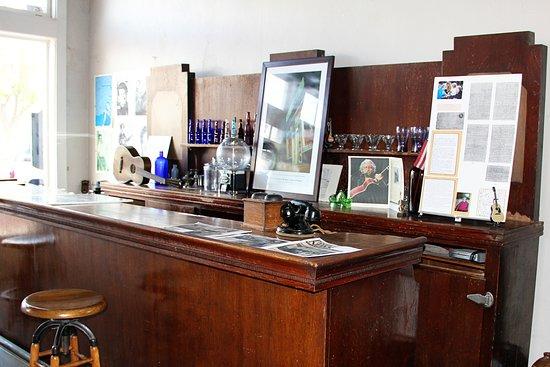 Pampa, TX: Woody Guthrie memorabilia