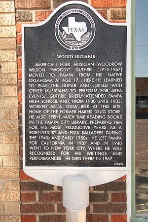 Pampa, TX: Historical Marker