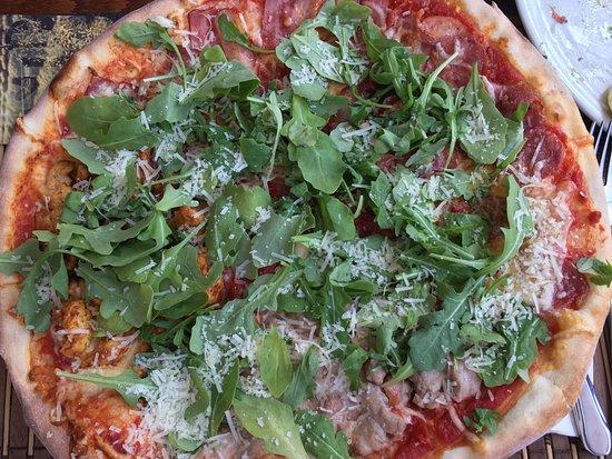 Adenau, Germany: pinochio pizza
