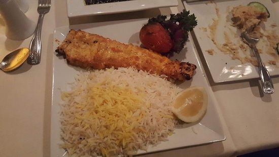 Persepolis Persian Cuisine: Chicken Barg