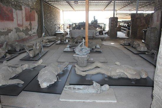 Pompeii Archaeological Park: Plaster casts