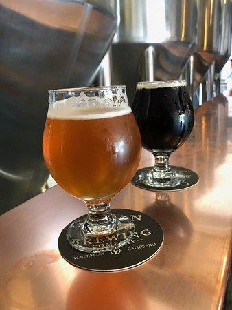 Gilman Brewing Company: Saison beers at Gilman Brewing