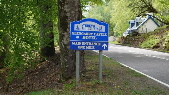Invergarry, UK: Entrance