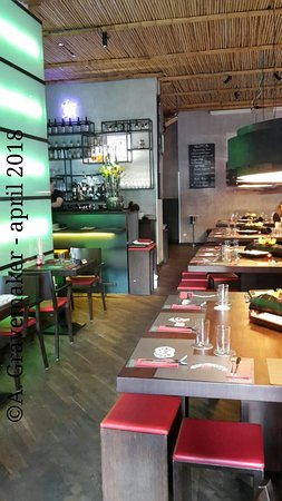 NU Restaurant: Interieur