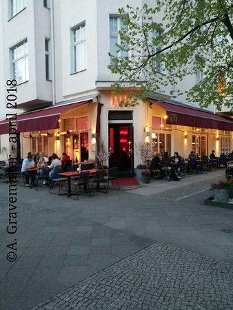 NU Restaurant: Buitenzijde