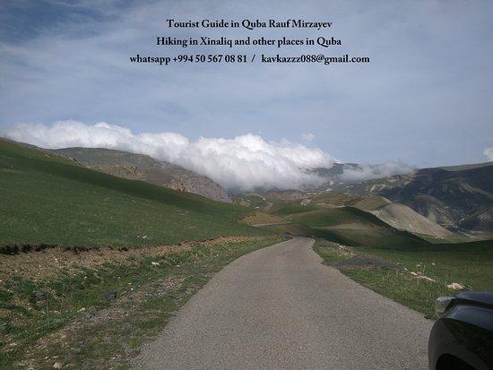 Xinaliq  hiking with Rauf Mirzayev
