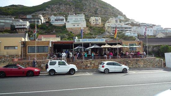 Glencairn, África do Sul: sinon bord de route