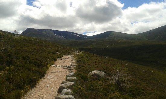 CairnGorm Mountain: Egy túristaösvény