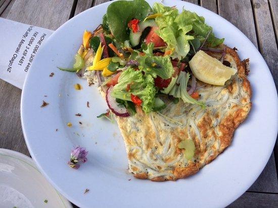 Moeraki, นิวซีแลนด์: mammouth whitebait fritter