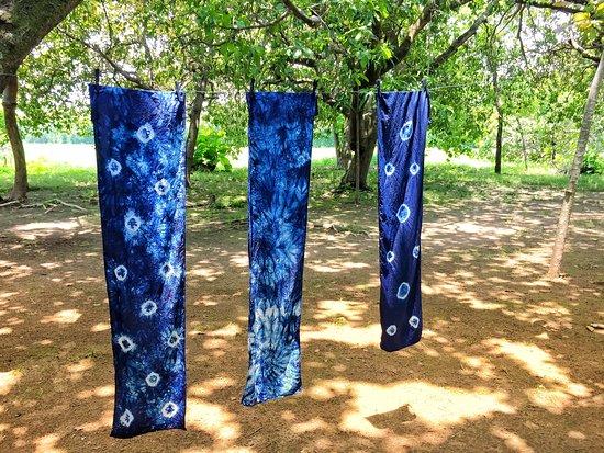 GringoTours: our indigo scarves