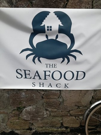 The Seafood Shack: Look out for this banner on the wall outside. The whole place is outside :)
