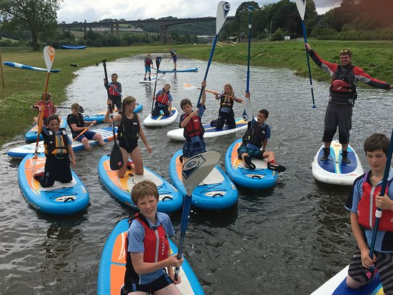 Willowgate Activity Centre: Stand Up Paddleboarding time