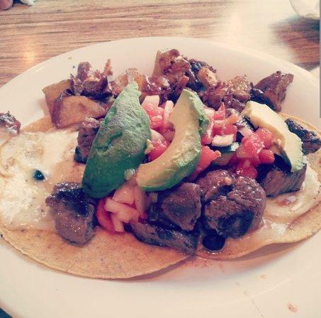 Media, PA: Flank Steak Huevos Rancheros