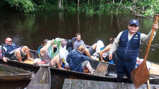 Lagunas, Peru: Saliendo hacia la reserva nacional Pacaya Samiria