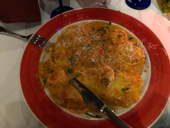 Da Marino Restaurant: Lobster Ravioli once more - but this time with the Vodka Sauce