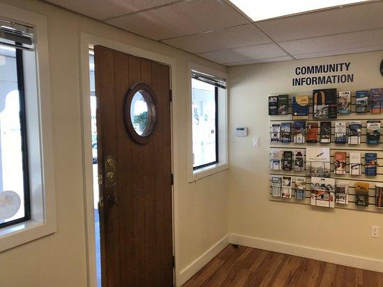 North Saanich, Canada: Saanich Peninsula Information Centre