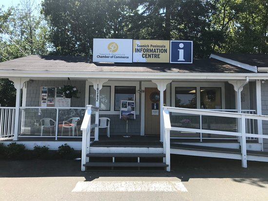 North Saanich, Canada: Saanich Peninsula Information Centre