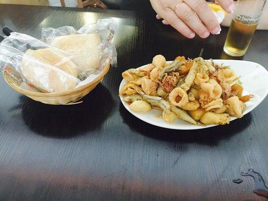 Montalban de Cordoba, Spain: fritura