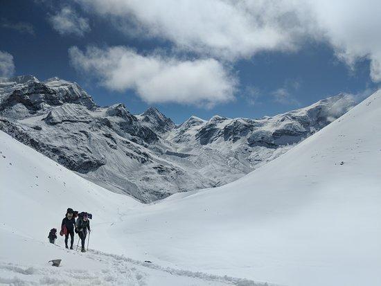 InspireU Adventures: Thorong la Pass day.