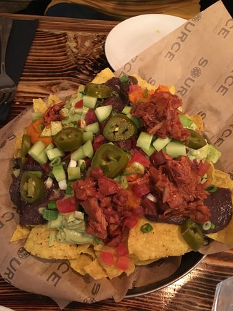 Source: THE nachos with jack fruit