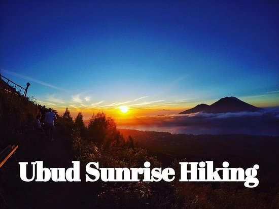Ubud Sunrise Hiking