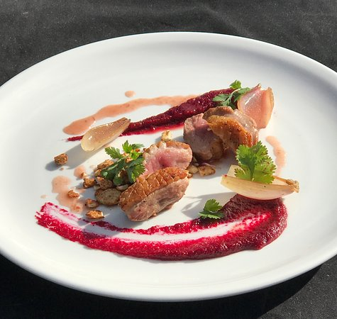 Poppies Cafe: Duck Breast Entree