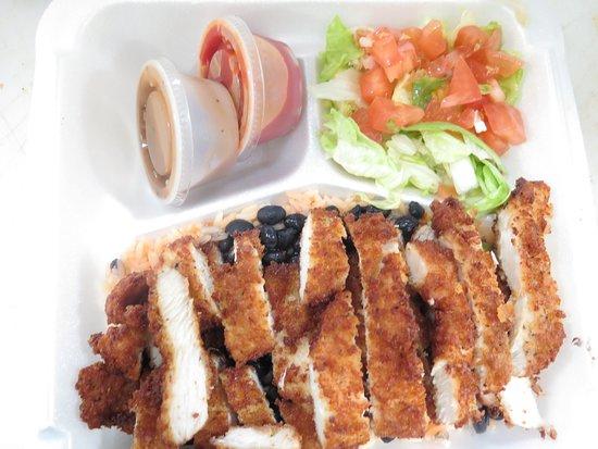 Waldwick, NJ: crispy chiken plater