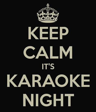 Wittersham, UK: Karaoke night with more than 3000 songs to choose from...
