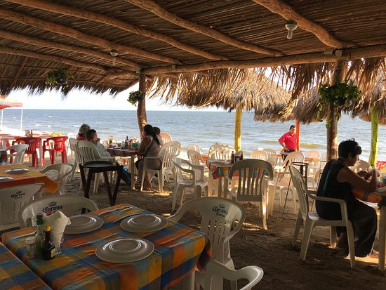 Mariscos el Gordo: View from table