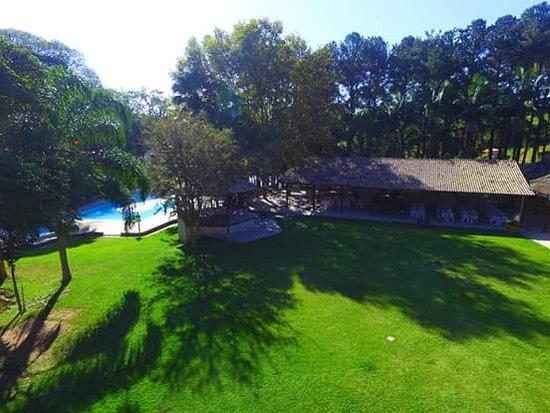 Santa Isabel, SP: Vista aerea