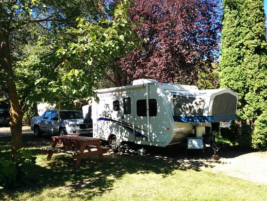 Columbia Falls, Montana: Spots with lots of trees and shady