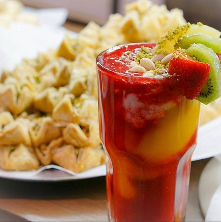 Paramount Fine Foods: Baklava, Paramount Special Drink