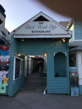 Back Porch Café: 45 years and going strong!