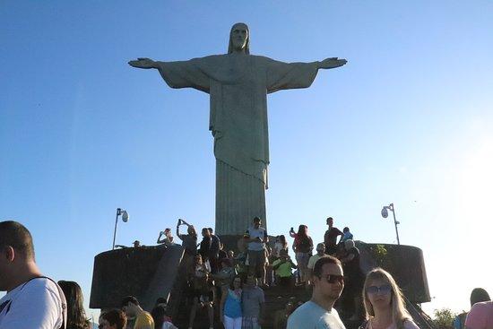 Corcovado - Cristo Redentor: Mucha gente