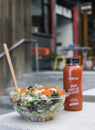 Nudefish Poke: Healthy takeaway and dine in options
