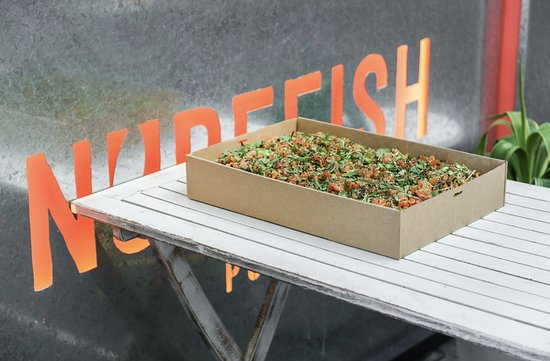 Nudefish Poke: We do catering to feed groups of 10 or more