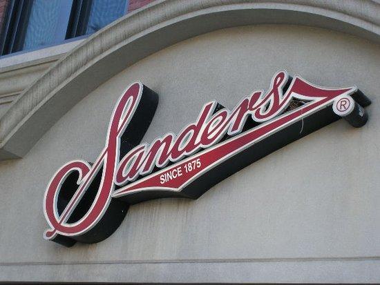 Wyandotte, MI: The iconic Sanders Logo