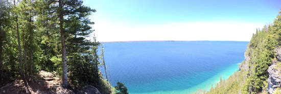 Lion's Head, Kanada: panorama from lookout