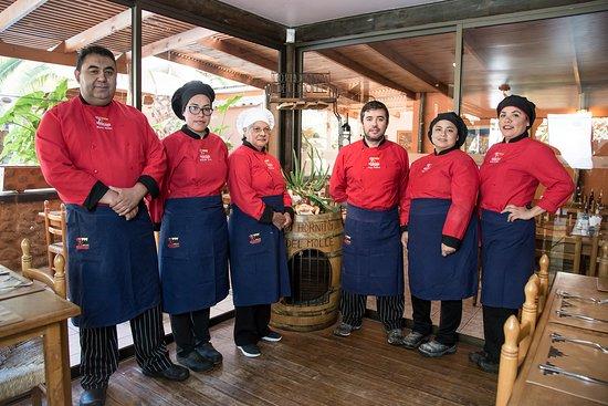 Equipo Restaurant Los Hornitos del Molle