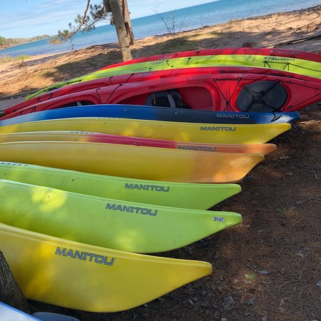 La Pointe, WI: Holy Spirit Bay - Madeline Island Kayak Co.