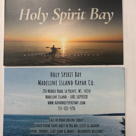 ‪Holy Spirit Bay - Madeline Island Kayak Co.‬